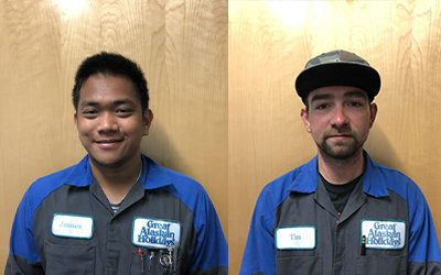 Two New Technical Staff Additions at Great Alaskan Holidays